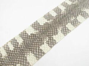 PELGIO Real Genuine Pipe Snake Skin Leather Hide Pelt Natural