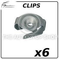 Heat Shield Nuts For Christmas Tree Stud Renault Avantime/Captur etc 11442 6PK