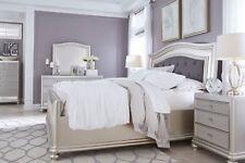 Ashley Furniture Cayne Queen Silver 6 Piece Bedroom Set