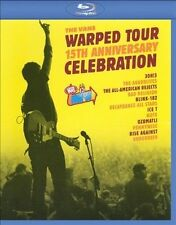 BAD RELIGION/RISE AGAINST/V...-VANS Warped Tour 15TH ANniversary Blu-Ray NEW