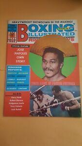 Vintage Boxing Illustrated + Ringside News Magazine: Aug. 1969. Jose Napoles.