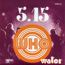 ★☆★ CD Single The WHO  5.15 - Water - 2-track CARD SLEEVE  ★☆★