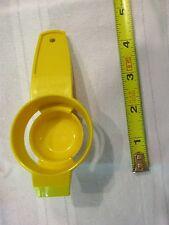 Tupperware gold yellow egg separator 779 white yolk kitchen tool utencil part