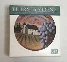 Thirstystone Natural Solid Sandstone Coasters