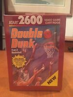 Double Dunk Atari 2600 Video Game NIB 1989