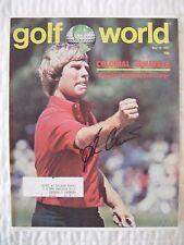 BEN CRENSHAW signed 1977 Golf World magazine AUTO Autographed TEXAS LONGHORNS UT