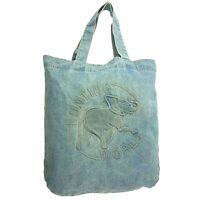 HUNTING WORLD Tote bag Blue Woman Authentic Used K239