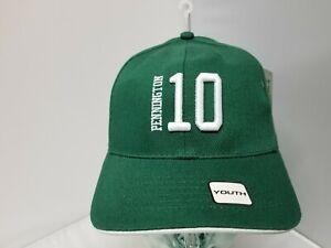New York Jets NFL Reebok Youth/Children Unisex Green Pennington 10 Cap/Hat OSFM