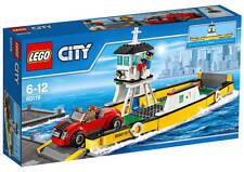 NEU LEGO® CITY 60119 - City Fähre NEU & OVP Geschäftsfrau / Fährkapitän / Auto