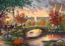 GIBSONS AUTUMN IN NEW YORK THOMAS KINKADE 1000 PIECE JIGSAW PUZZLE G6244 NEW