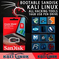 sandisk pendrive 16 Kali Linux 16Gb USB Flash Drive Hacking tools kali linux usb