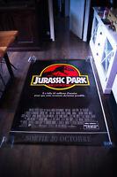 JURASSIC PARK TEASER 4x6 ft Bus Shelter D/S Movie Poster Original 1993
