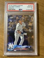 Gleyber Torres 2018 Topps Chrome Update ROOKIE RC #HMT9 PSA 10 GEM MINT