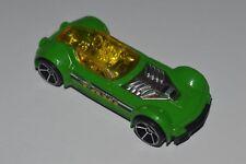 2001 Hot Wheels Ballistik Green Body Yellow Dome 1:64 Thailand Diecast Used