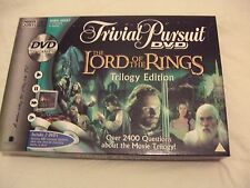 Game A The Lord of the Rings Trilogy Edition Trivial Pursuit DVD TV Game PARKER