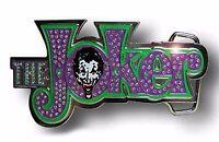 Batman Joker Belt Buckle Usa American Superhero Movie Comics Dc Metal Mens Rodeo