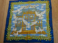 RARE Authentic HERMES United Nations Special Issue 1995 Silk Scarf