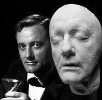 Robert Vaughn Life Mask: Man from U.N.C.L.E, Magnificent Seven, Bullitt