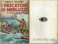 books emilio salgari racconto illustrato # 33 avventure first edition 1935 rare