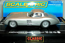 Scalextric C2914 Mercedes Benz 300 Slr Coupe With Lights 1/32 Slot Car