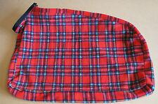 Stewart Tartan Pile Dog Dry Bag Medium Ideale per l'asciugatura Umido Cani Nuovo
