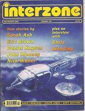 INTERZONE 190 Sarah Ash, Eric Brown, Chris Wooding, David Langford
