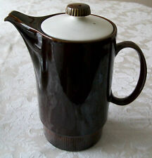 POOLE POTTERY Chestnut 2 Pint COFFEE POT Vintage 1970's Style - Great Condition