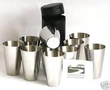 Shooting Peg Position Finder Numbered Cups 1-10 Black Leather Case