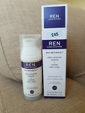 New Ren Bio Retinoid Anti Ageing Cream All Skin Types Wrinkles Lines 50ml