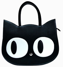 Heart of Gold Cat Handbag Tote Bag Banned Apparel Kawaii Emo Gothic Lovers Gift