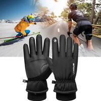NEW Women Men Winter Warm Gloves Windproof Thermal Touch Screen Mittens