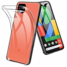 Google Pixel 4 TPU Rubber Gel Shock Absorption Bumper Anti Scratch Clear Case