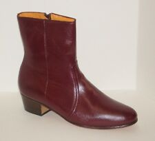 Mens Calzado JCH Leather Side Zipper Dress Boot Style:500 Made in Mexico