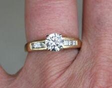 1.12ctw Diamond 18k Yellow Gold Ring ~ I-J/SI1 ~ New Appraisal $7400 ~ Sz 8