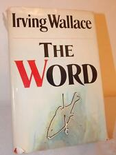 THE WORD Irving Wallace 1972 Book Club Edition BCE Hardcover HC/DJ