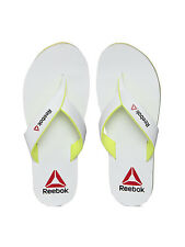 10 Uk Size Reebok Men Advent Flip-Flops (White)
