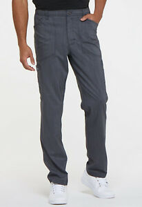 Pewter Dickies Scrubs Advance Mens Natural Rise Straight Leg Pant DK180 PWTT
