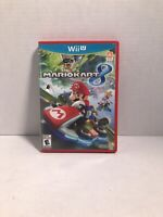 Mario Kart 8 Nintendo Wii U, Tested, Works