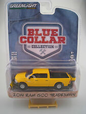 "GreenLight 1:64 OVP nuevo Limited Edition RAM 1500 tradesman /""blue collar/"""