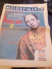 Simple Minds, The Bangles, Sigue Sigue Sputnik - Melody Maker Magazine 1986