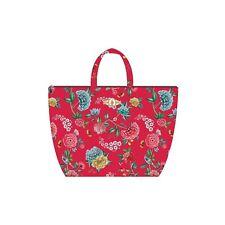 PiP Studio Beach Bag Good Night Rot Strandtasche Blumen Blüten Strand Urlaub