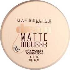 Maybelline Dream Matte Mousse Perfection Foundation SPF18 (18ml) - 02 Fair