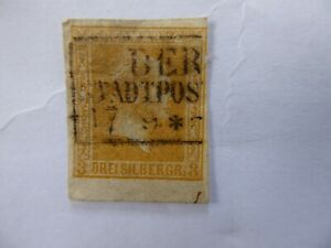 Prussia 1857 3sg used