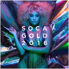 Soca Gold 2016 -  New CD Album + DVD