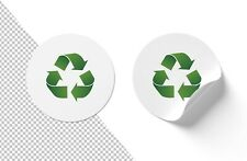100% Recyclable White Label Promotional Cut Vinyl Stickers Your Design
