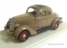 Ford Fordor 1935 coupe marrón 1:43 Rextoys Diecast coche a escala