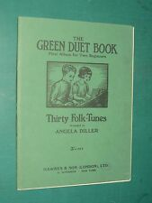 Partitions Piano Green Duet book Thirty folk-Tunes Angela DILLER