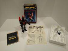 Mego Micronauts Baron Karza- Box and instructions
