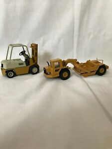 Conrad Yale Forklift Cat Caterpillar Construction Truck Vehicle die cast toy lot
