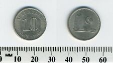 Malaysia 1968 - 10 Sen Copper-Nickel Coin - Parliament house